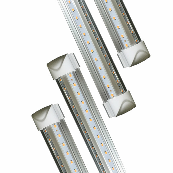 LED luce del tubo, 8FT 72W (150W fluorescente equivalente), doppio lato A forma di V integrato della lampadina, opere senza T8 Ballast, Plug and Play