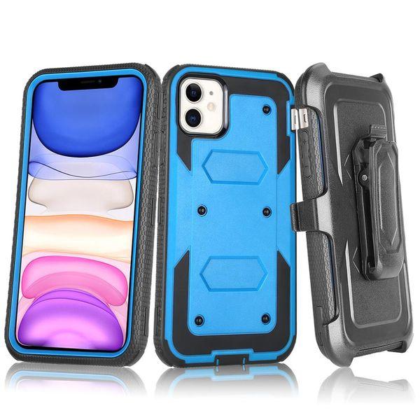 Для Iphone 11 Pro Max LG K40 Stylo 5 Motorola E6 Plus Samsung A10E A20 Примечание 10 Plus Heavy Duty Defender Клип Case