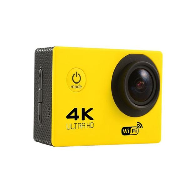 """best selling 2020-4K Action camera F60 Allwinner 4K 30fps 1080P sport WiFi 2.0"""" 170D Helmet Cam underwater go waterproof pro camera"""