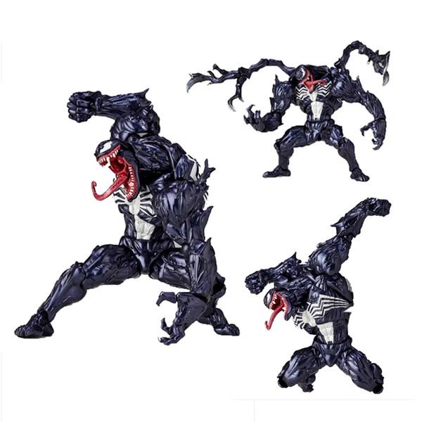6inch Spiderman Venom Action Figure PVC Anime Avenger Figure Toy Doll Model Gift