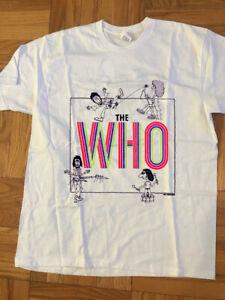 The Who Shirt Vintage camiseta 1975 Who by Numbers Promo Classic Print REPRINT
