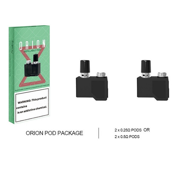 Orion Refillable Pod Original Lost Vape DNA Go Q Cartridge 2ml Vape Pod Cartridge FOR Authentic Lostvape Orion Q Kit