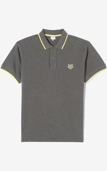 Cabeça do tigre polo camisa dos homens designer tshirt lapela selvagem S-XXL tshirts de algodão 5 cores clássico moda t-shirt top quality casal t camisas