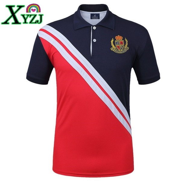 fa14ddf0 Mens Plus Size Brand Polo Shirt Short Sleeve Fitness Running Outdoor Sports  Jogging Workout Tops Tennis