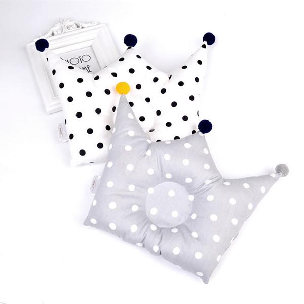 Almohada moldeadora para bebés Prevenga la cabeza plana Los bebés Almohadas de la ropa de cama Recién nacido Niño niña Accesorios de decoración de la habitación Bebé de 0 a 12 meses