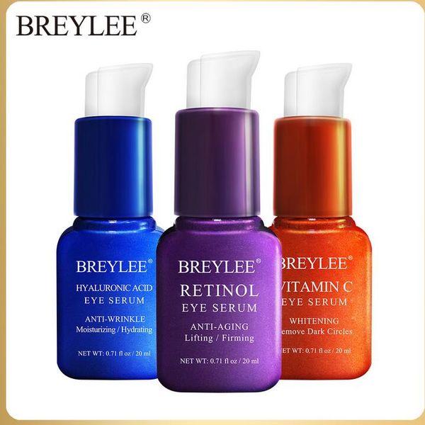 BREYLEE VC/HYALURONIC ACID/RETINOL EYE SERUM Moisturizing Nourishing Eye Serum freeshipping