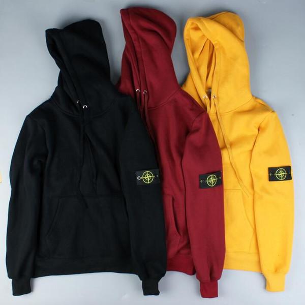 Pull 2019 nouvelle mode polyvalent top Hooded plus velours haute qualité designer hommes occasionnels sportswear top mm