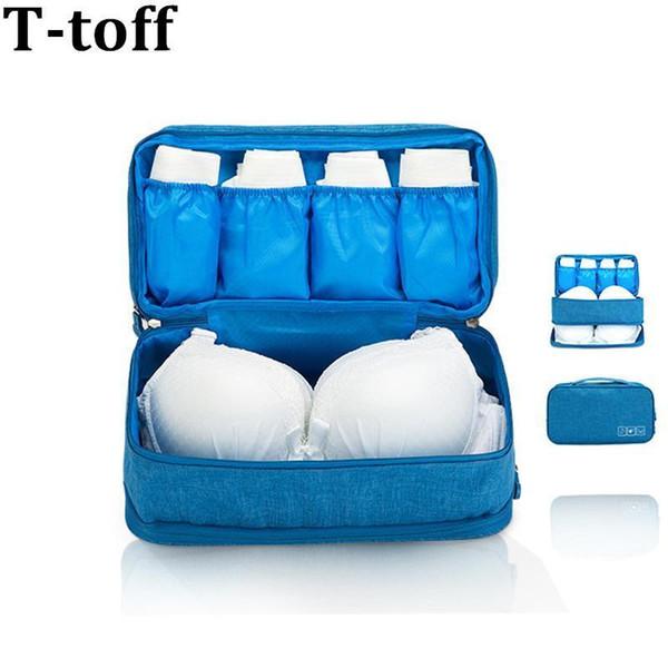 Women Waterproof Underwear Travel Bag Bra Case For Travel Packing Bags For Bra Packing Cube Clothing Sock Bag Luggage Organizer