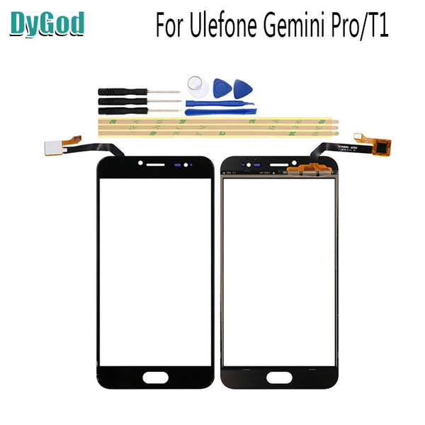 5.5 inch For Ulefone T1 Touch Screen Digitizer Glass Replace Panel For Ulefone Gemini Pro Replacement Parts With Tools Adhesive