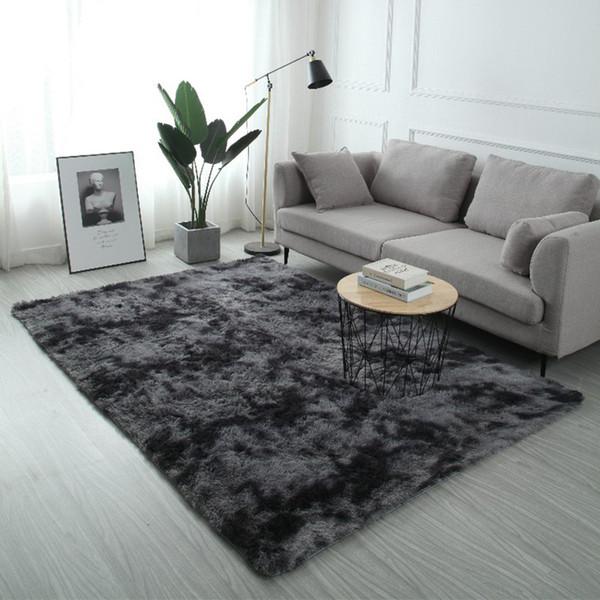 best selling Plush Fur Carpet Livingroom Soft Shaggy Carpets Kids Room Hair Rugs Bedroom fluffy Rug Sofa Coffee Table Floor Velvet blanket Anti-slip Decor Mat Modern Large mats