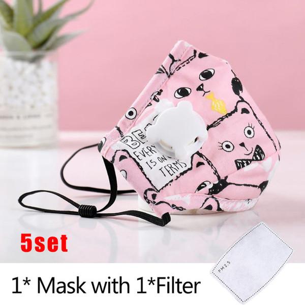 Maske x filter 5 Stücke E