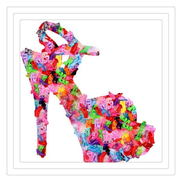 Großhandel Niedliche Verschiedene Unwiederholbare High Heel Sandal Booth Schuhe Für 29cm Princess Dolls Ein Tolles Und Erstaunliches Geschenk Für Ihr
