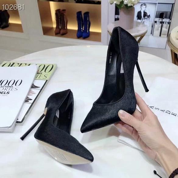 Sexy Pointu Toe Hig Heel Femmes Pompes Printemps Automne Troupeau Slip Sur Spike Talons Chaussures Simples Pour Femme Bureau Dame Chaussures jasmine11