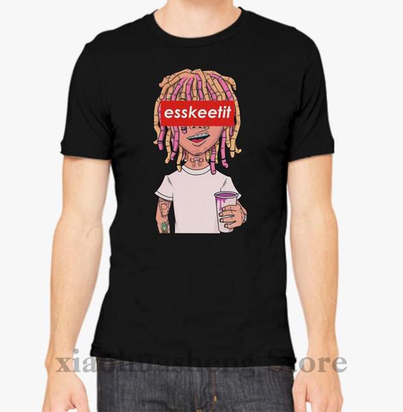 Lil ESSKEETIT T-Shirt Männer T-Shirt Frauen Tops T-Shirt 100% Baumwolle Funny Print O-Neck Kurzarm T-Shirt