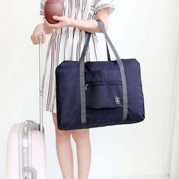 Waterproof Nylon Travel Bags Large Capacity Man Women Weekend Bag Travel Carry On Luggage Bags Organizer Packing Cubes