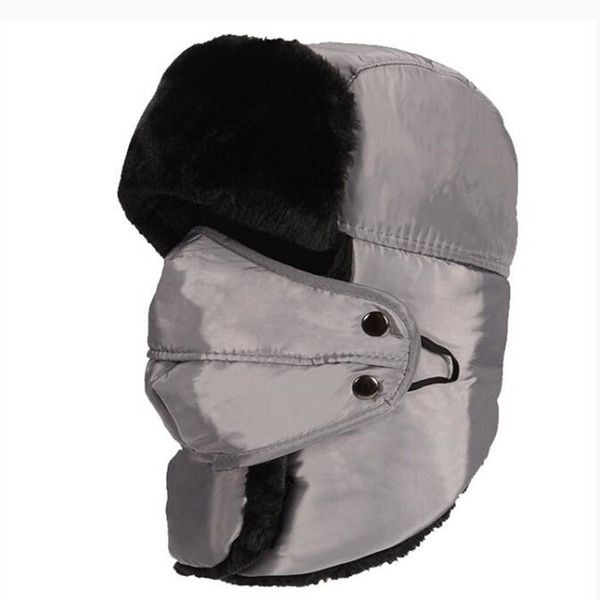 WILD SNOW -30 Warm Outdoor Waterproof&Windproof Winter Thickening Ski Hat Hiking Cap With Masks Bomber For Women Men N0002