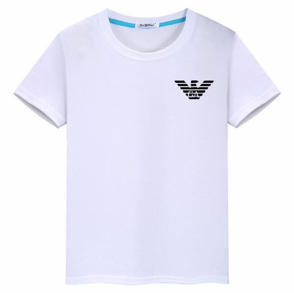 2020 новый модный бренд детской одежды лето новая детская футболка хлопок высокого класса модели взрыв взрыв круглый 3-8Т