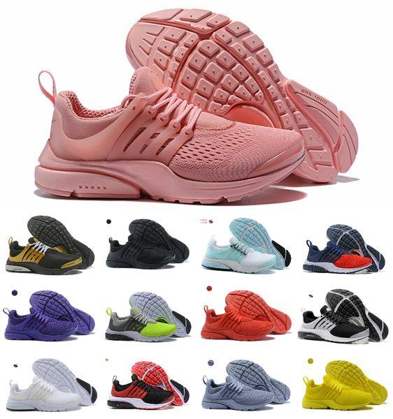 2019 Presto Laufschuhe Herren Damen Ultra BR QS Gelb Rosa Prestos Schwarz Air Weiß Oreo Outdoor Jogging Herren Sneakers Sneakers Größe 36-46