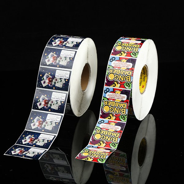 Custom eco friendly coated paper food sticker label roll package snacks adhesive label on bottle professionals manufacturer in China
