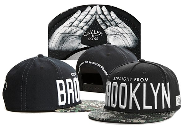 cheap STRAIGHT FROM BROOKLYN Cayler & sons snapbacks Cayler snapback caps hiphop hats fashions cap and hat Free shipping mix order TYMY 33