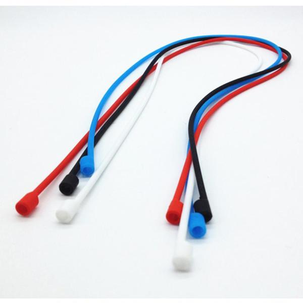 ZZYD 9 Colores Cuerda Anti-perdida Cuerdas Colgantes Cordón para AirPods Air pods Accesorios para iPhone Auriculares Auriculares Cubierta