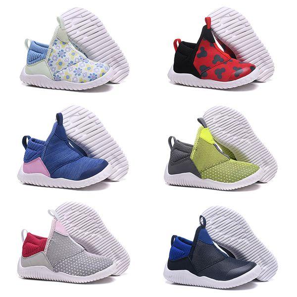 2019 kids Running Shoes for Men Women kids Fashion Lightweight pony Skateboard Athletic Sneakers Size 22-35