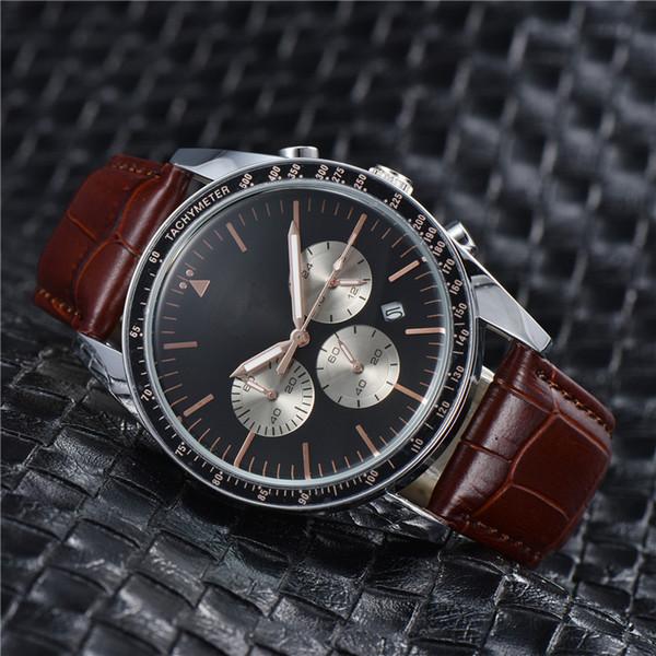 neue Luxus ROYAL OAK Chef Quarz beiläufige Uhr der Art und Weise Männer passen alle Funktionen können Netzband freies Verschiffen arbeiten