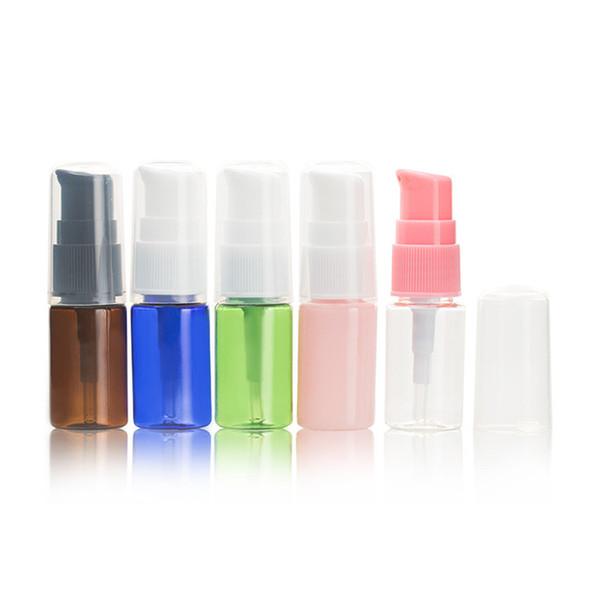 10 ML Transparente Plástico Recargable Vacío Gotas de reabastecimiento de combustible Ojo Líquido Comprensible Gotero Viales Muestreo Almacenamiento