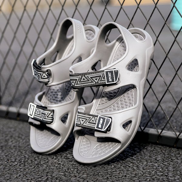 Sapatos masculinos sandale homme eva macia quente chinelo mens casual flat shoes para o verão buty meskies pantoffels heren nd268