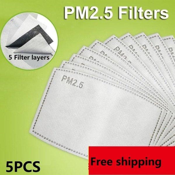 5pcs filtri 2.5pm