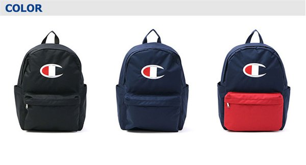 Fashion Champions Embroidery Logo Backpacks Luxury Designer Students Schoolbag Women Men Backpack Sports Travel Shoulder Bag Handbags C62705