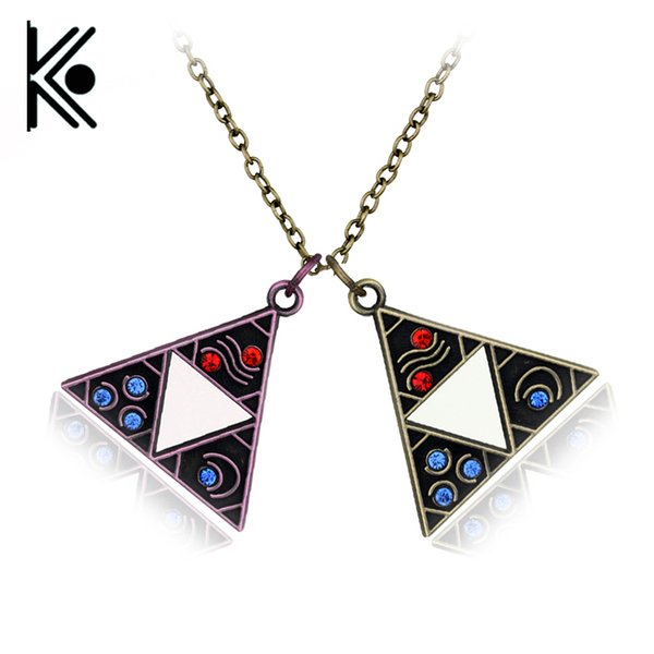 10pcs Anime Game The Legend Of Zelda Rope Necklace For Women&men Vintage Jewelry C19041203