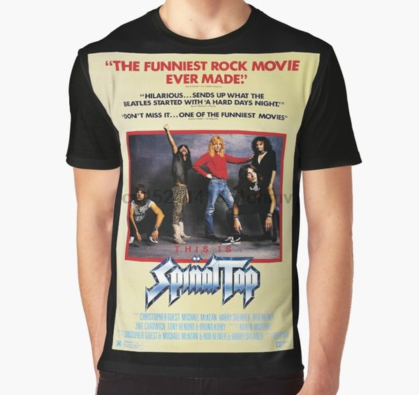 All Over Print 3D Tshirt Men Funny T Shirt This Is Spinal tap Full Print Big Graphic T-Shirt