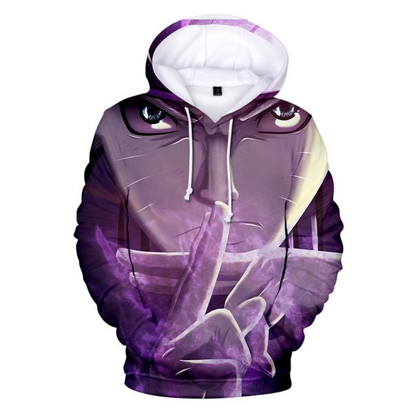 2019 new 3d Naruto Hoodies Men/women Fashion Hot High Quality Streetwear Hip Hop 3d Naruto Men's Hoodies And Sweatshirt