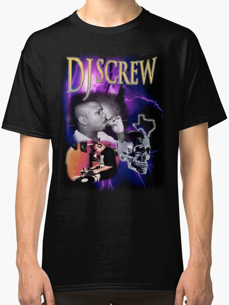 Maglietta da uomo 3 'N The Morning Rap Dj Maglietta nera Funny Funny T Shirt in jersey di cotone 100%