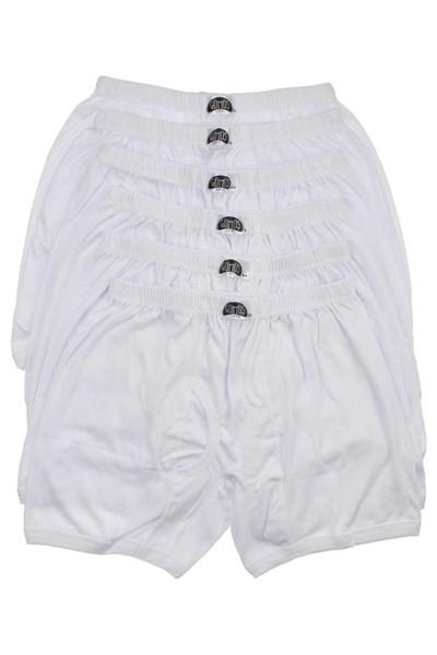 Intimo Uomo Large Size Argento modakids 6l White Boxer 040-3057-027