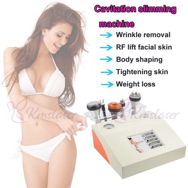 5 in 1 40Khz RF radio frequency bio micro current face lift wrinkle removal freckle removal body slimming weight loss anti aging spa salon e