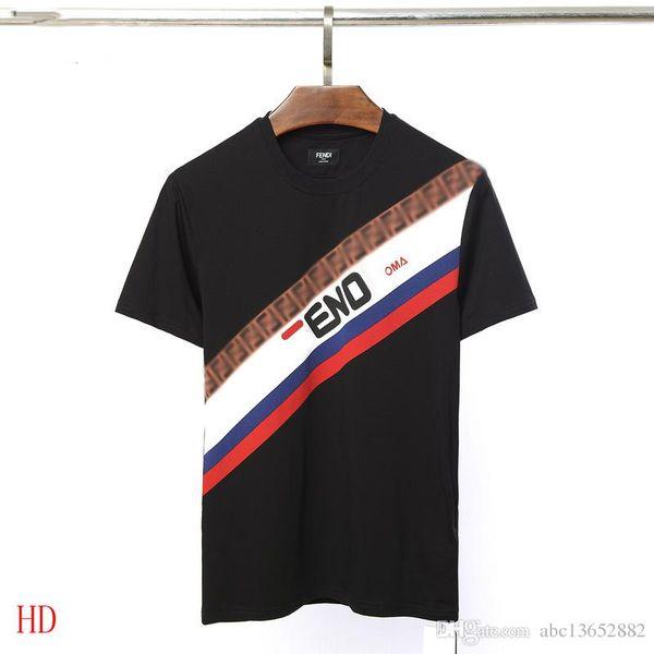 2018ss FND gömlek erkek yaz kısa kollu gömlek T-shirt erkek T-shirt M-3XL büyük boy T-shirt