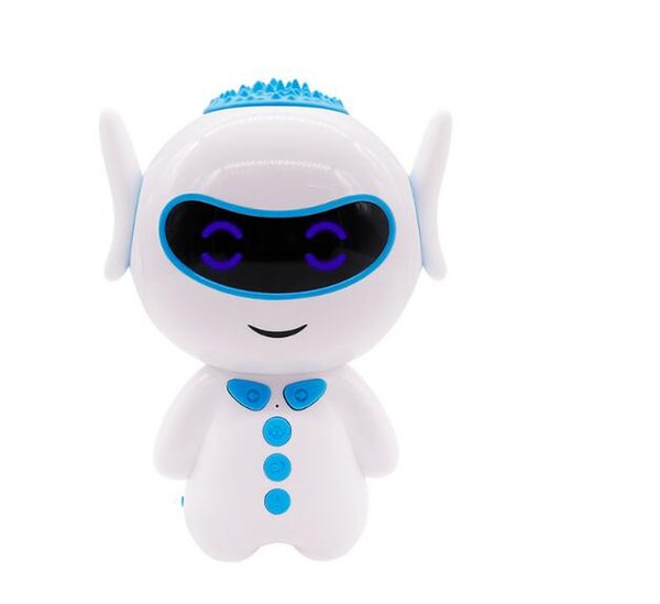 Hu Bar Children Intelligent Robot Toys Voice Dialogue WiFi Puzzle Early Childhood Robot Gift