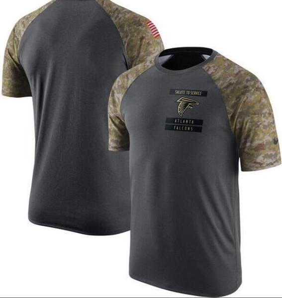Los hombres de AtlantaHalcones de la línea lateral línea de golpeo Leyenda camiseta del funcionamiento