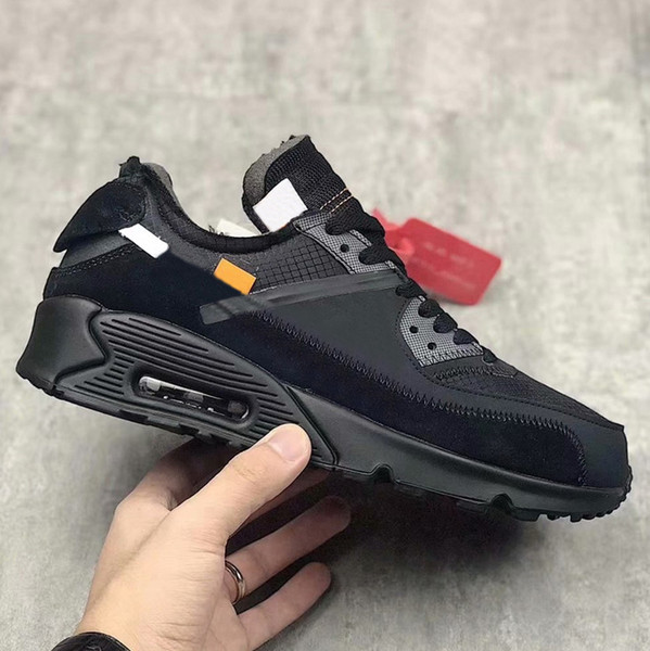 2019 1990s x white Black Cone White Mens designer Shoes Womens Sneakers Authentic Sports Desert Ore AA7293-001 With Original Box 36-45