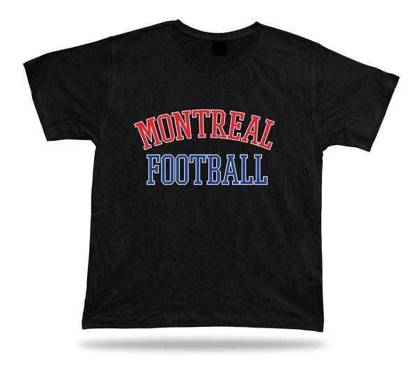 FUTEBOL de Montreal t-shirt tee estádio canada engraçado 100% camiseta de Algodão harajuku Verão 2018 tshirt de Manga Curta Plus Size t-shirt