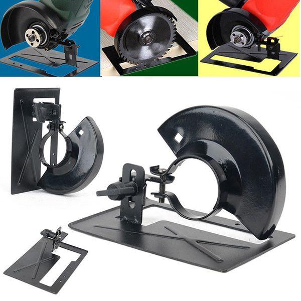 Angle Grinder Holder Cover 13.7cm Adjustable 20 To 30 Mm Metal Angle Grinder Stand Holder Support Base DIY Woodworking Tools