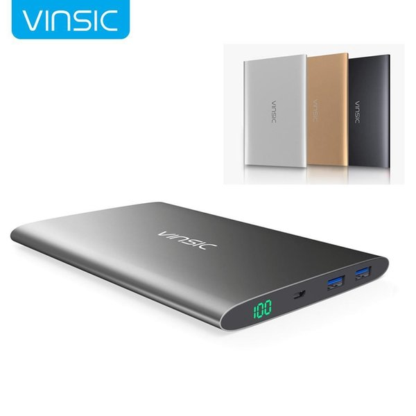 15000mAh Portable Ultra Slim Power Bank Dual USB Light weight, compact size External General Battery Charger