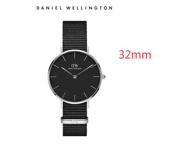 Compre CON CAJA 2019, Los Mejores Relojes Para Mujer Daniel Wellington Para Hombres Relojes 32mm Para Hombres Relojes 36 Para Mujeres Reloj De Cuarzo