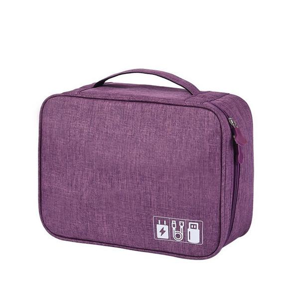 Multifuncional Dispositivo Digital Travel Organizer Bag Gadget USB Charger Caso de Armazenamento De Cabo Digital Acessórios Recipiente