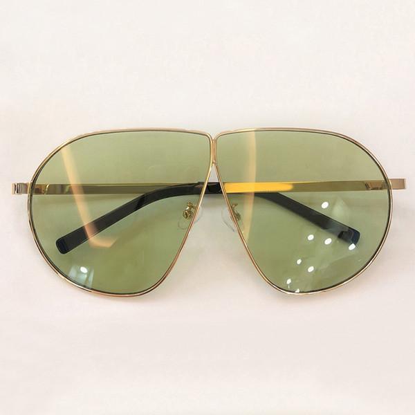 2019 Gözlük Güneş Kadınlar Yaz Stil Vintage Metal Çerçeve Boy Güneş Gözlükleri Moda Açık Renkli Shades UV400