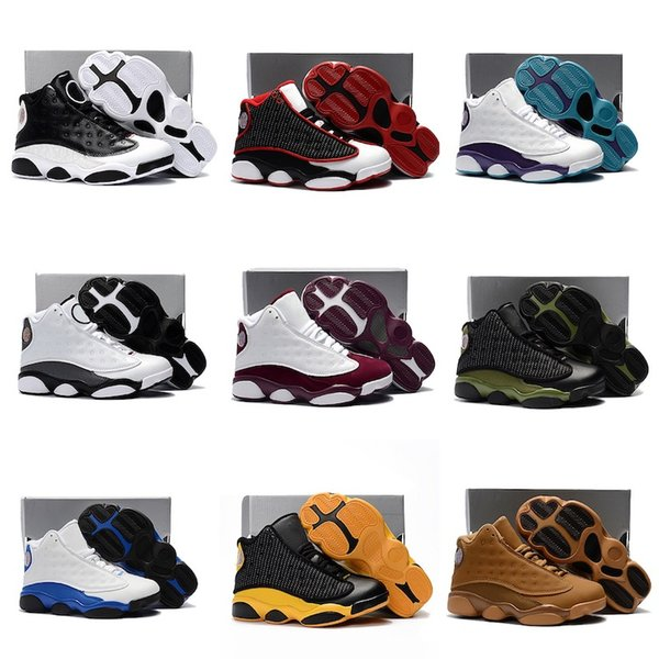Mix Cute Silicone basketball shoes Key Chain j13 Sneaker Kids shoes for boys and Girls Christmas Gifts size 28-35