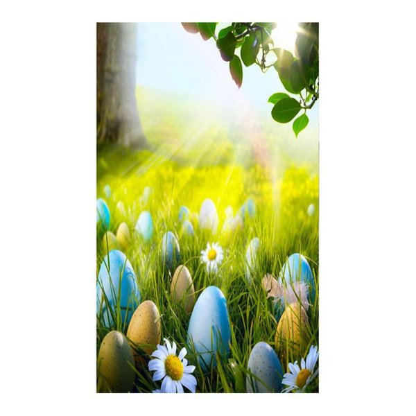 Easter Theme Digital Photography Background Cloth Photo Studio Backdrops