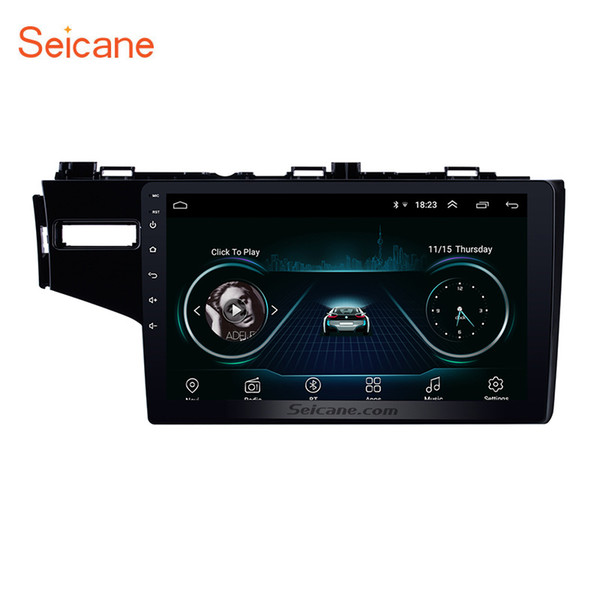 Quad-core Android 8.1 9 inch Head Unit GPS Car Radio for 2014 Honda FIT Left with Bluetooth WIFI support DVR Backup Camera DAB+ TPMS 3G